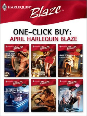 cover image of April Harlequin Blaze
