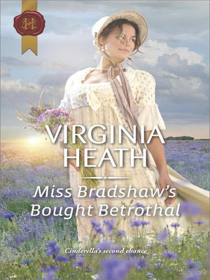 cover image of Miss Bradshaw's Bought Betrothal