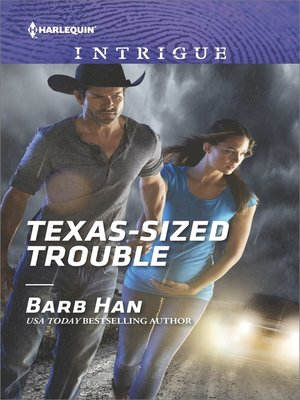 cover image of Texas-Sized Trouble