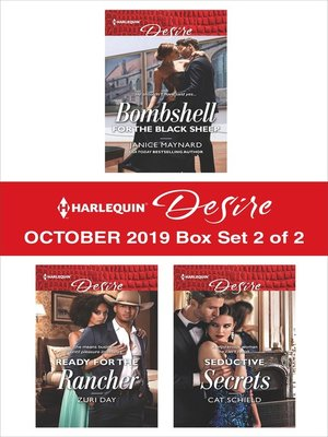 cover image of Harlequin Desire October 2019--Box Set 2 of 2