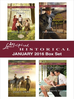 cover image of Love Inspired Historical January 2016 Box Set