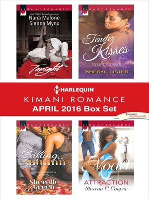 cover image of Harlequin Kimani Romance April 2016 Box Set