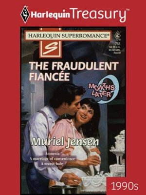 cover image of The Fraudulent Fiancee