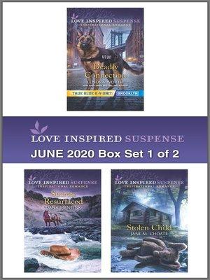 cover image of Harlequin Love Inspired Suspense June 2020--Box Set 1 of 2