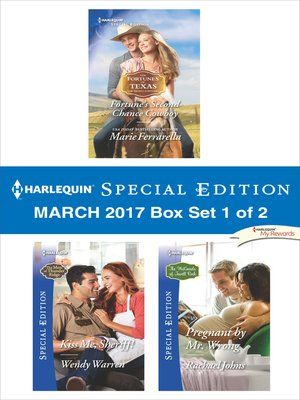 cover image of Harlequin Special Edition March 2017, Box Set 1 of 2