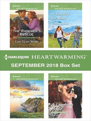 cover image of Harlequin Heartwarming September 2018 Box Set