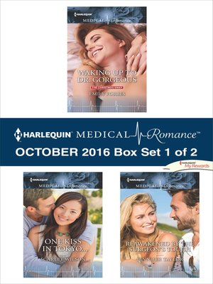 cover image of Harlequin Medical Romance October 2016, Box Set 1 of 2