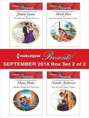 cover image of Harlequin Presents September 2018--Box Set 2 of 2