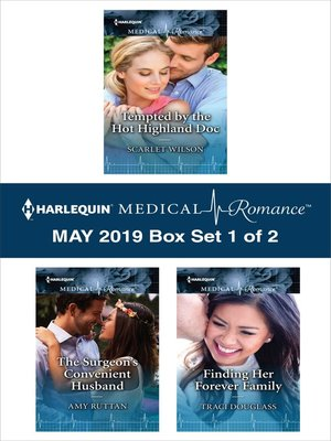 cover image of Harlequin Medical Romance May 2019, Box Set 1 of 2
