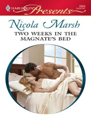 cover image of Two Weeks in the Magnate's Bed