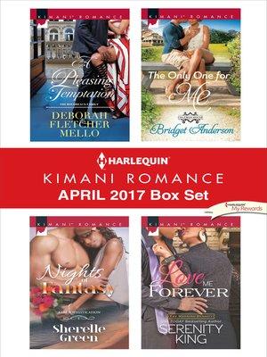 cover image of Harlequin Kimani Romance April 2017 Box Set