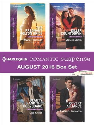 cover image of Harlequin Romantic Suspense August 2016 Box Set