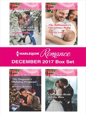 cover image of Harlequin Romance December 2017 Box Set