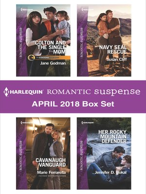 cover image of Harlequin Romantic Suspense April 2018 Box Set