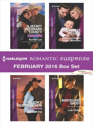 cover image of Harlequin Romantic Suspense February 2016  Box Set