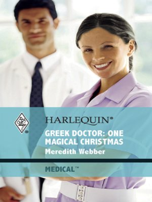 cover image of Greek Doctor: One Magical Christmas