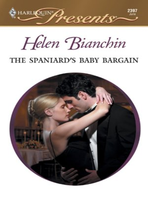 cover image of The Spaniard's Baby Bargain