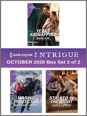 cover image of Harlequin Intrigue October 2020--Box Set 2 of 2