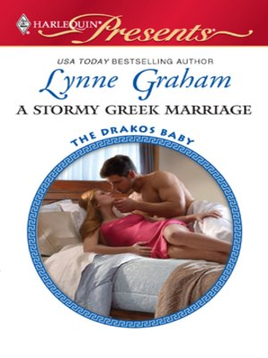 cover image of Stormy Greek Marriage