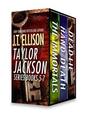 cover image of J.T. Ellison Taylor Jackson Series, Books 5-7