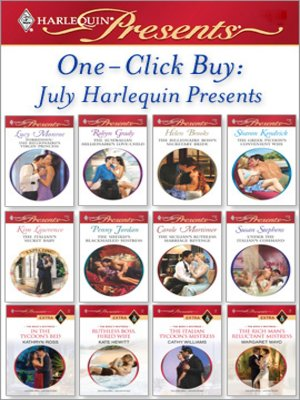 cover image of One-Click Buy: July Harlequin Presents