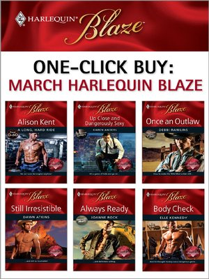 cover image of March 2009 Harlequin Blaze