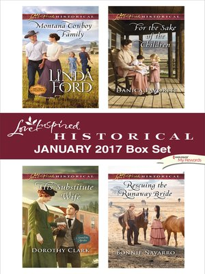 cover image of Love Inspired Historical January 2017 Box Set