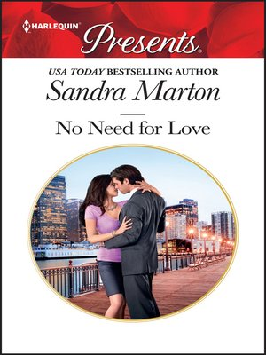 cover image of No Need for Love