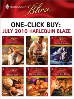 cover image of One-Click Buy: July 2010 Harlequin Blaze