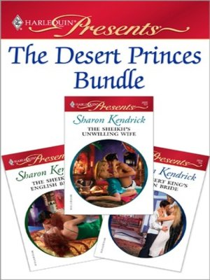 cover image of The Desert Princes Bundle