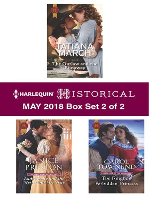 cover image of Harlequin Historical May 2018--Box Set 2 of 2