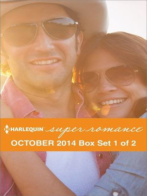 cover image of Harlequin Superromance October 2014 - Box Set 1 of 2: Reclaiming the Cowboy\His Kind of Perfection\Married One Night