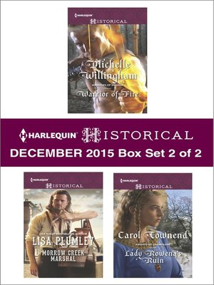 cover image of Harlequin Historical December 2015, Box Set 2 of 2