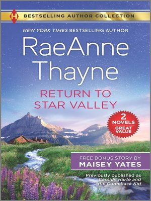 cover image of Return to Star Valley ; Want Me, Cowboy