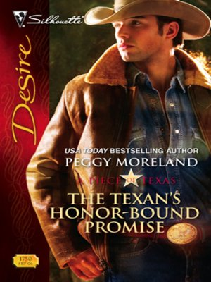 cover image of The Texan's Honor-Bound Promise