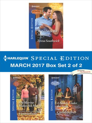 cover image of Harlequin Special Edition March 2017, Box Set 2 of 2