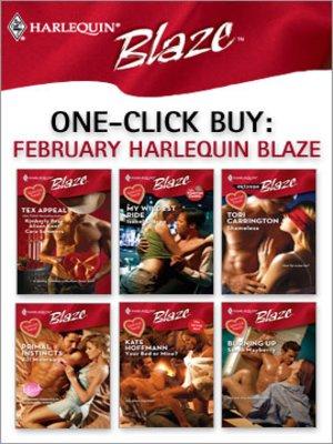 cover image of February Harlequin Blaze