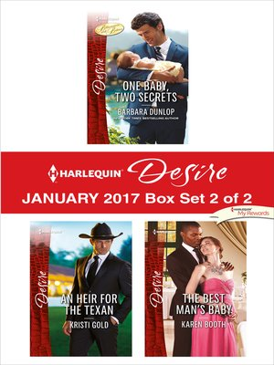 cover image of Harlequin Desire January 2017, Box Set 2 of 2