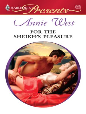 cover image of For the Sheikh's Pleasure
