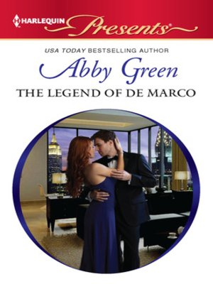 cover image of The Legend of de Marco