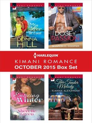 cover image of Harlequin Kimani Romance October 2015 Box Set