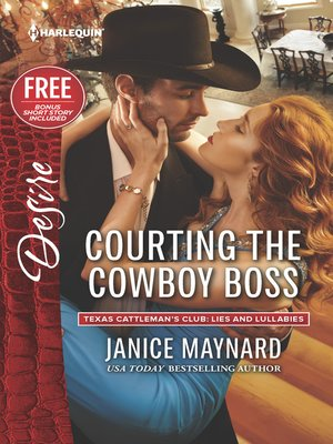 cover image of Courting the Cowboy Boss: Reclaimed by the Rancher
