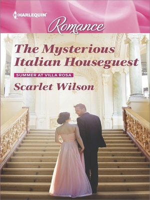 cover image of The Mysterious Italian Houseguest