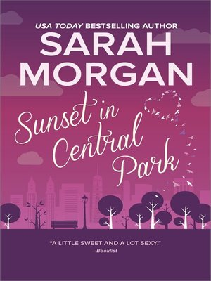 cover image of Sunset in Central Park--The perfect romantic comedy to curl up with