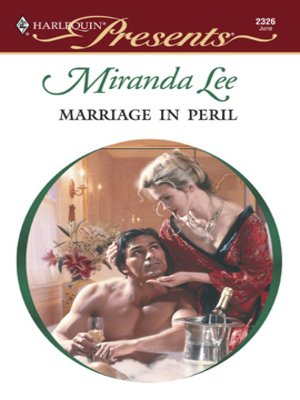 cover image of Marriage in Peril