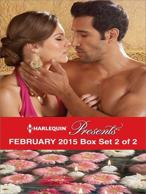 cover image of Harlequin Presents February 2015 - Box Set 2 of 2: Playing by the Greek's Rules\The Sultan's Harem Bride\Innocent in His Diamonds\Claimed by the Sheikh