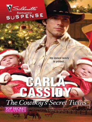 cover image of Cowboy's Secret Twins
