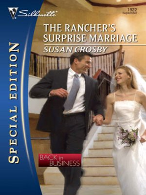 cover image of The Rancher's Surprise Marriage