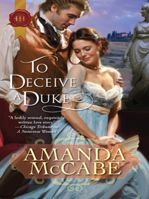 cover image of To Deceive a Duke