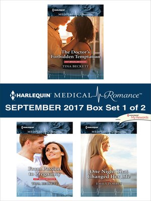 cover image of Harlequin Medical Romance September 2017--Box Set 1 of 2